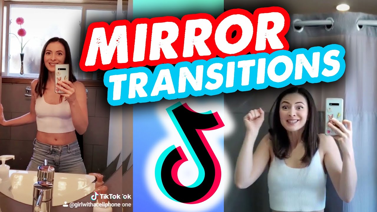 Tiktok Mirror Transition Tutorial Easy Youtube