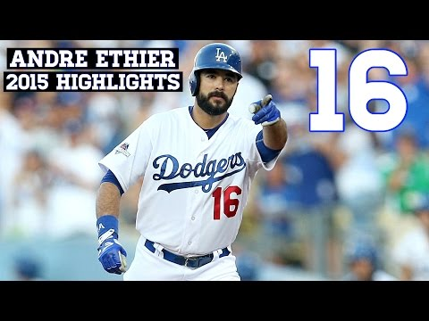 Andre Ethier | 2015 Dodgers Highlights HD