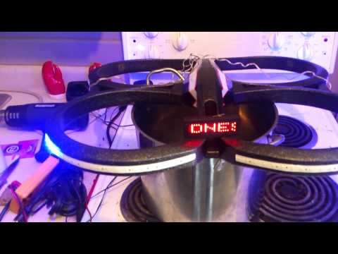 my ar drone 2.0 lighting mods getting there