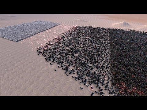 10.000 STORMTROOPERS vs 40.000 JEDI - Ultimate Epic Battle Simulator