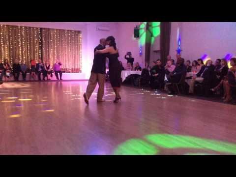 Harrogate Tango Festival 2016   Richard Manuel & Caroline Hanson dancing  A Mis Viejos
