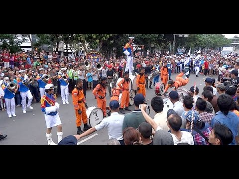 Aksi Marching Band STPI - Curug ★ Medley Rambadia, Manuk Dadali, Bujangan & It's My Life