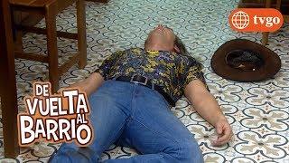 ¡Dante empuja a Marcelo causándole un grave golpe en la espalda! - De Vuelta al Barrio 04/06/2018