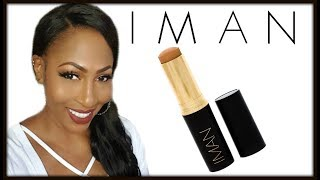 Iman Cosmetics Second To None Stick Foundation Review