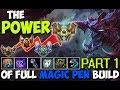The Power Of My Full Magic Pen Cho'Gath Build   One Shot Cho'Gath Montage   Part 1