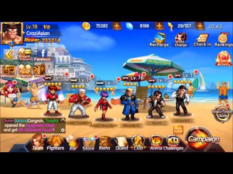 KOF98 UM OL (Global) Being a free to play (f2p) player, its not all doom and gloom talk