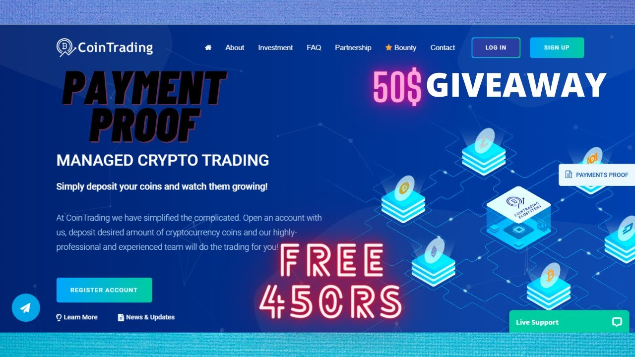 Cointrading.biz Review || 25$ Free Ethereum Bounty program|| 4000 RS Ethereum Giveaway
