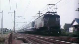 EF57,EF58,東北本線2/2カラー。EF57,EF58 on Tohoku main line.2/2,color.