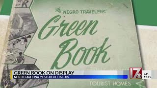 The Green Book on display at history museum