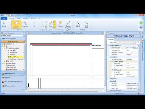 Edificius Tutorial - Drawing and Editing the Building Envelope - ACCA software