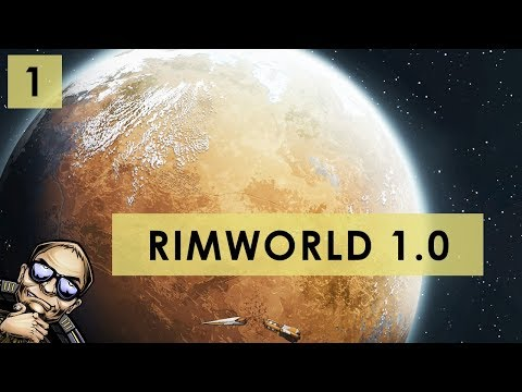 RimWorld 1.0 - The Rich Explorer - Part 1 [Full Release Gameplay]