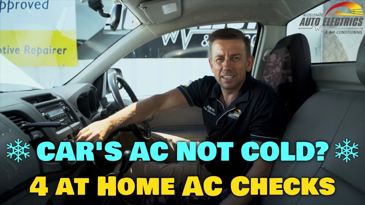 Car's AC Not Cold? Here are 4 at home checks | Accelerate Auto Electrics &  Air Conditioning