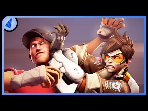 Overwatch vs. TF2 [SFM] from YouTube · Duration:  8 minutes 16 seconds