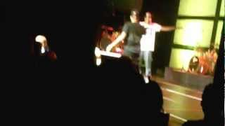 Christian Rapper Canon Raps Over the Beat 'Black Rose' (Lecrae Concert)