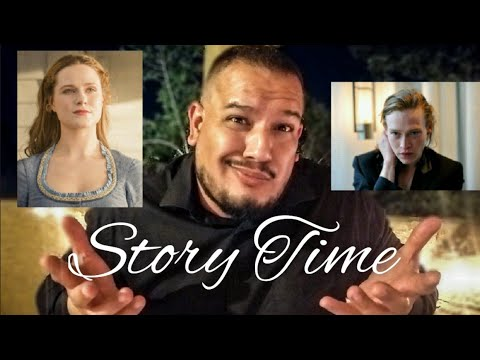Meeting Evan Rachel Woods And Caleb Landry Jones | Story Time