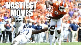 Nastiest Moves Hurdles Jukes Spin Moves  Stiff Arms Of The 2018-19 College Football Season