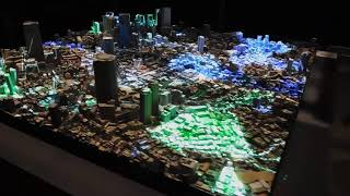 DSCN7608 INNOVATION TOKYO 2018 – AR PLAY GROUND WITH NIANTIC模型 プロジェクションマッピングIngress 20181017六本木ヒルズ