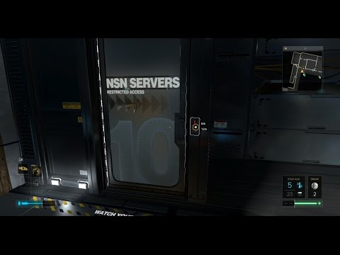 Deus Ex Mankind Divided Getting Into NSN Server Room