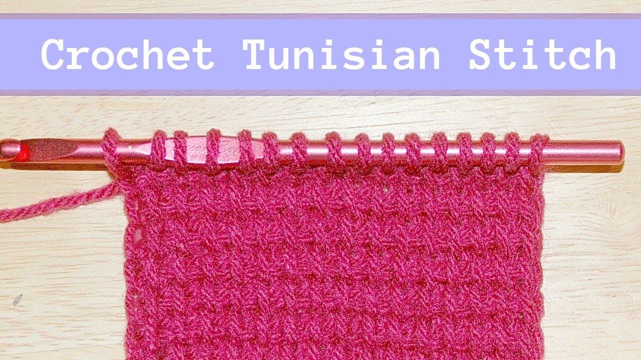 How To Tunisian Crochet Tutorial Crochet Jewel Youtube