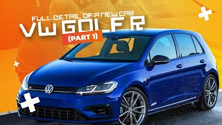 2018 VW GOLF R : FULL DETAIL OF A NEW CAR (Part 1)
