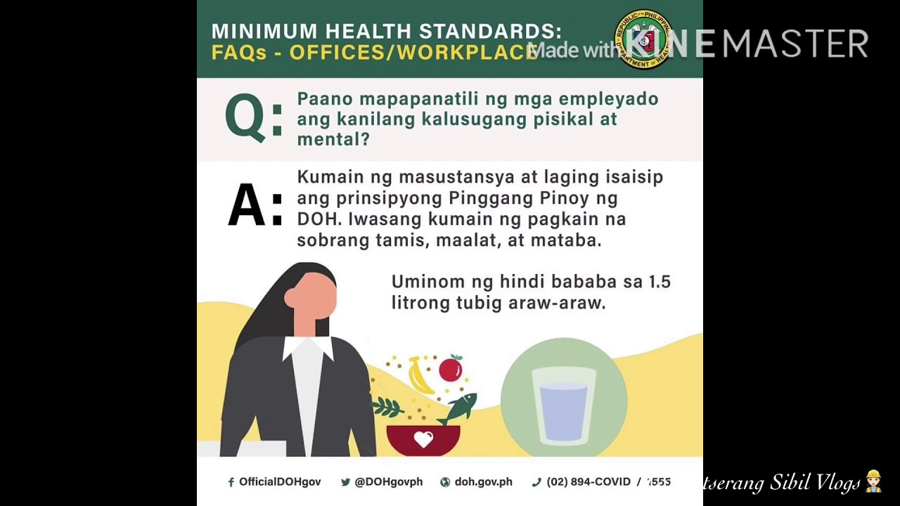 Paalala Ng Doh Sa New Normal Sa Mga Opisina Workplace Youtube