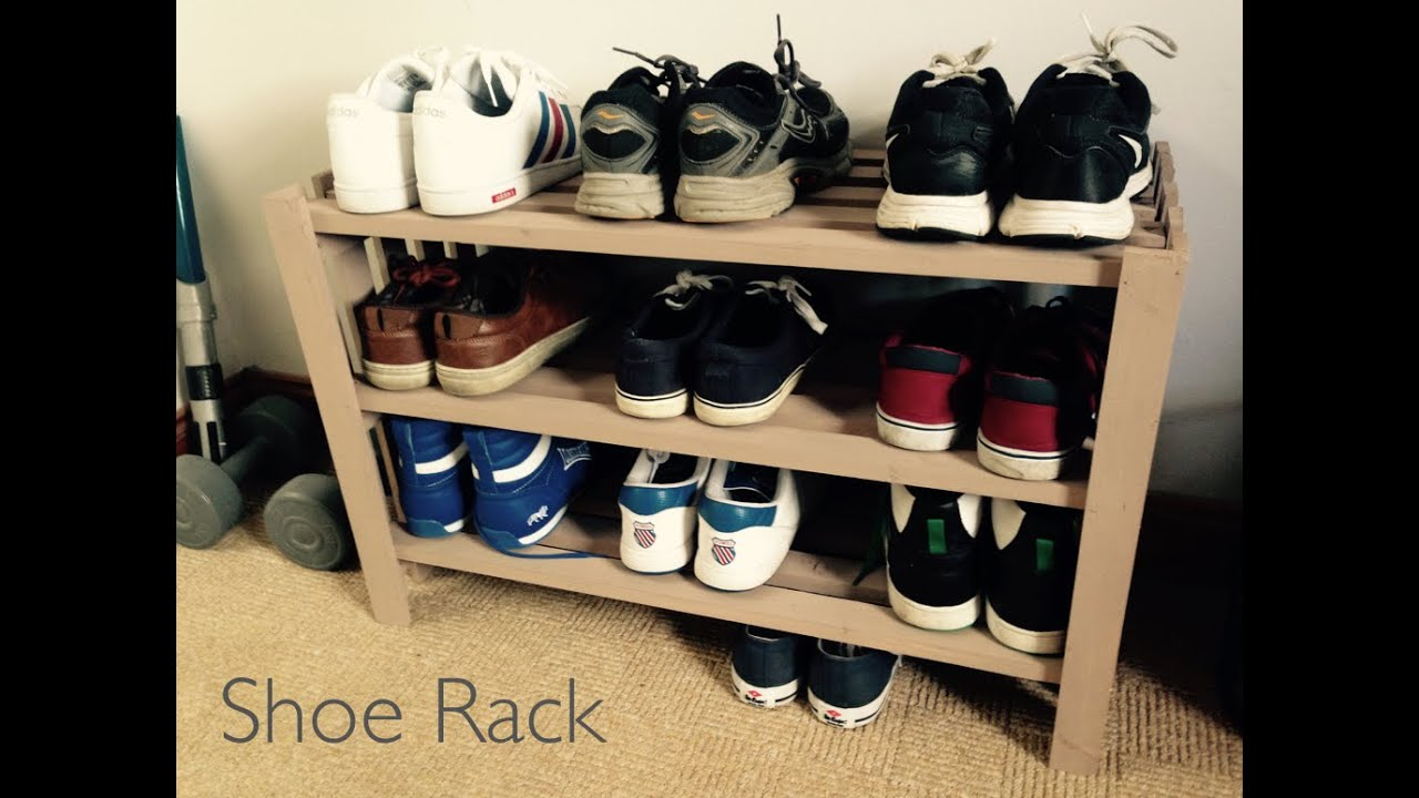 How To Make A Shoe Rack   YouTube Part 63