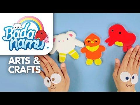 Badanamu Arts & Crafts EP10: Fun with Clay! Make Bada, Mimi, and Abby.