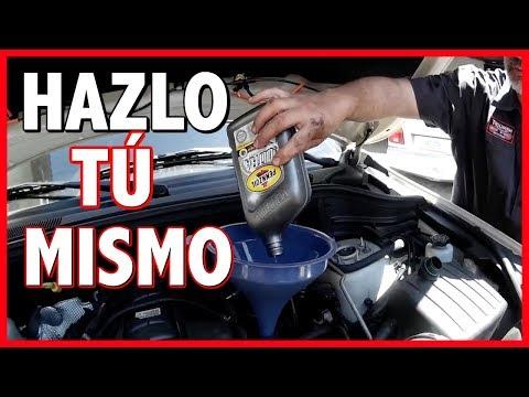 APRENDE a CAMBIAR el ACEITE y FILTRO de TU AUTO EN 10 MINUTOS