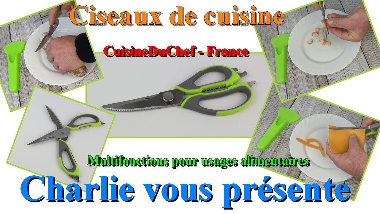 Thomas budget Ciseaux Ciseaux de Cuisine en Acier Inoxydable Universel Ciseaux