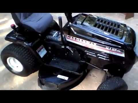 Mtd Troy Bilt Gardenway Lawn Tractor Review Youtube