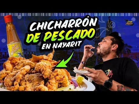 CHICHARRON de PESCADO en una LAGUNA ESPECTACULAR | Tepic NAYARIT Día 27 #DondeIniciaMexicoLRG