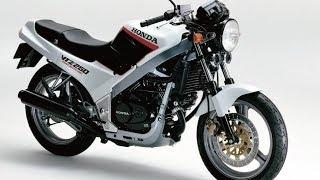 Такими должны быть JAWA и Юпитер! Обзор мотоцикла Honda VTZ250 образца 1982 года!(18+)
