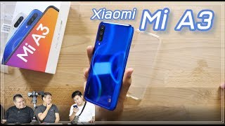 แกะกล่อง Xiaomi Mi A3 สวยงามตามท้องเรื่อง