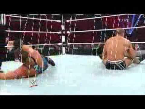 Rob Van Dam Vs. Jack Swagger Vs. Cesaro WWE Extreme Rules 2014 Segment 23