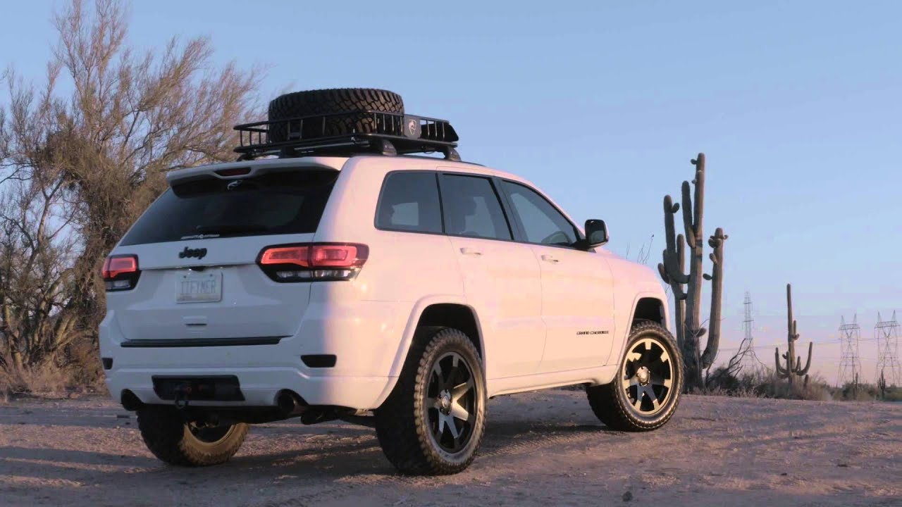 Gmc All Terrain X >> Atturo Trail Blade X/T Tires w/ Black Rhino Wheels on a Jeep Grand Cherokee - YouTube