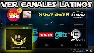 Ver canales latinos en HD,Estables Golden Iptv en Kodi