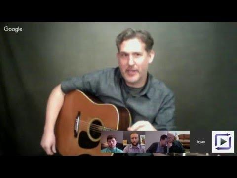 "Bryan Sutton & Chris ""Critter"" Eldridge - Live Hangout January 2016"