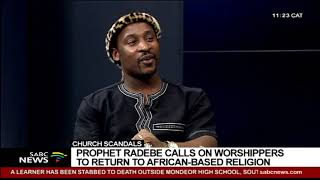 Gambar cover Church scandals  | In conversation with prophet Samuel Radebe of the Revelation Church of God