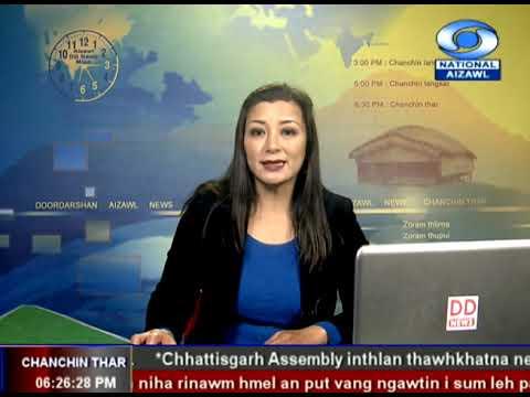 DDK News, Aizawl 10 Nov 2018 6:30PM News
