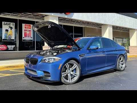 Мы мучались с ней 3 месяца BMW M5