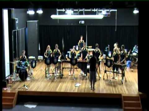 Senior Percussion Ensemble Brighton Secondary School Cairns Tour 2007 Bentley Park Concert #2.mpg