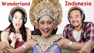 Istri Jepang Reaksi Wonderland Indonesia By Alffy Rev Ft Novia Bachmid