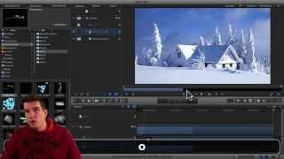 Schnee-Animationen in Bildern mit Motion 5