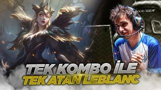 Cover images Tek Kombo ile Tek Atan Agresif LeBlanc Oynuyorum! (LeBlanc vs Cassiopeia)