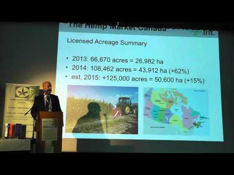 New Data on Hemp Food - EU, North-America and China - Daniel Kruse - World Hemp Congress