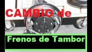 Video Como Cambiar Frenos Traseros  de Tambor paso a paso download MP3, 3GP, MP4, WEBM, AVI, FLV Oktober 2018