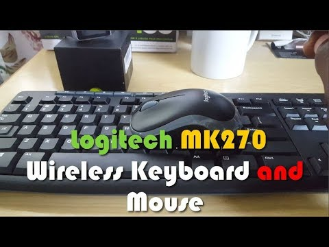 Logitech MK270 Wireless Keyboard and Mouse Combo Review