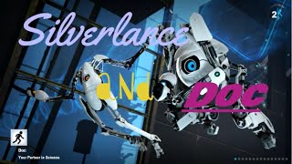 Portal 2 - Co-op - Part 3 - Propelling Clive and catching things