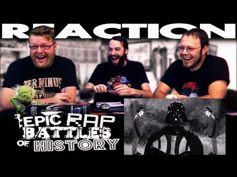Hitler vs Vader 3. Epic Rap Battles of History REACTION!!
