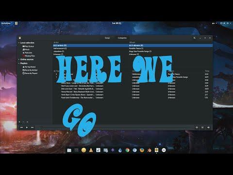 GNOME 3.22 | Rhythmbox CSD Plugin